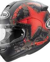 Arai Axces II - Comet Red -